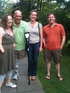 Cyndi,Myself,Marijo&Marc